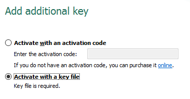 retrieve kaspersky product key